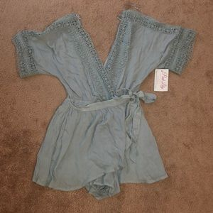 Romper from Pink Lily Boutique